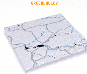 3d view of Green Valley