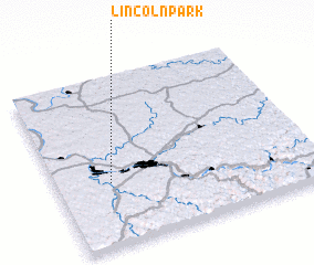 3d view of Lincoln Park