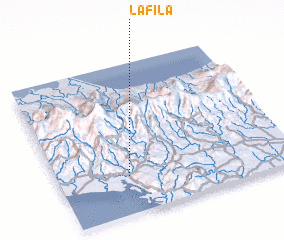 3d view of La Fila