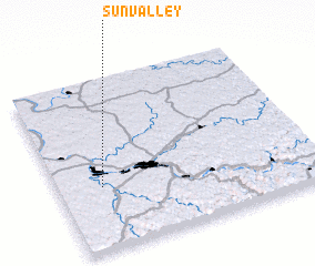 3d view of Sun Valley