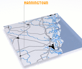 3d view of Manningtown