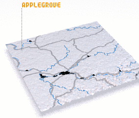 3d view of Apple Grove