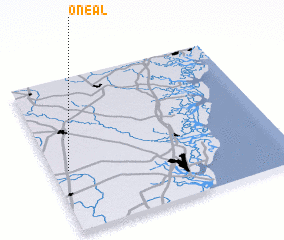 3d view of O Neal