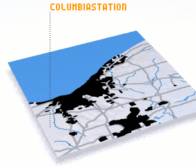 3d view of Columbia Station