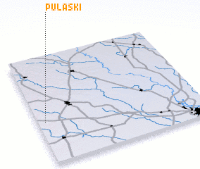 3d view of Pulaski