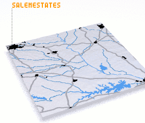 3d view of Salem Estates