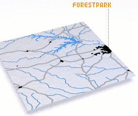 3d view of Forest Park