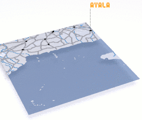 3d view of Ayala