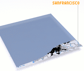 3d view of San Francisco