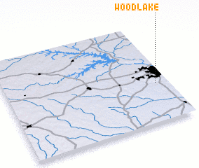 3d view of Woodlake