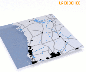 3d view of Lacoochee