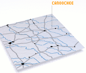 3d view of Canoochee