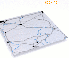 3d view of Hocking