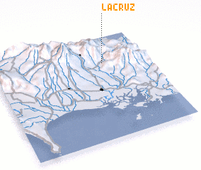 3d view of La Cruz