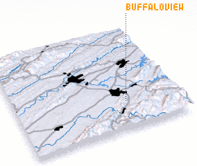 3d view of Buffalo View