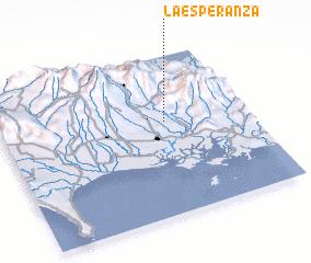 3d view of La Esperanza