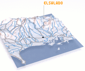 3d view of El Salado