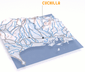3d view of Cuchilla
