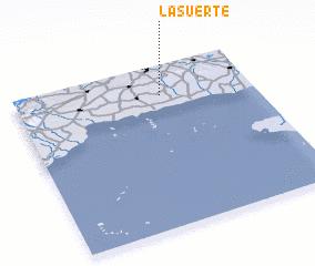 3d view of La Suerte