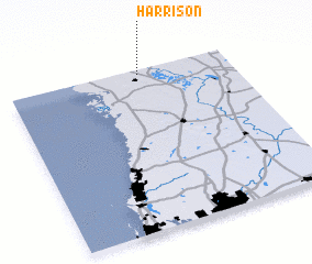 3d view of Harrison