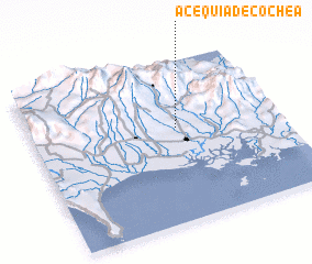 3d view of Acequia de Cochea