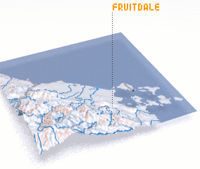 3d view of Fruitdale