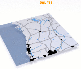 3d view of Powell