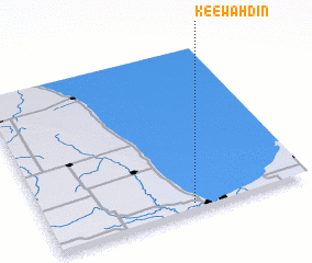 3d view of Keewahdin
