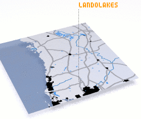 3d view of Land O\
