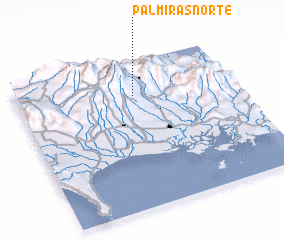 3d view of Palmiras Norte