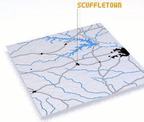 3d view of Scuffletown