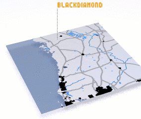 3d view of Black Diamond