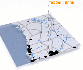 3d view of Carrollwood