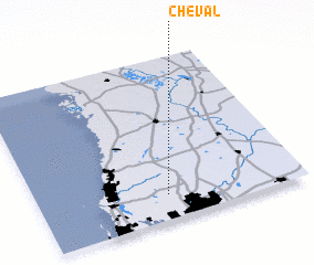 3d view of Cheval