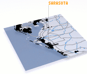 3d view of Sarasota
