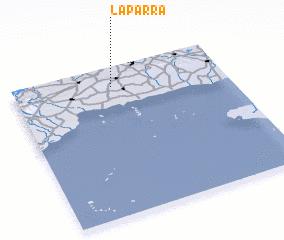 3d view of La Parra