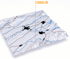 3d view of Conklin