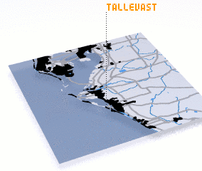 3d view of Tallevast