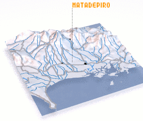 3d view of Mata de Piro