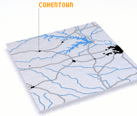 3d view of Cohentown