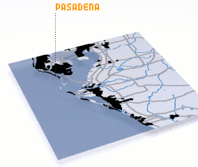 3d view of Pasadena