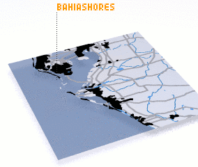 3d view of Bahia Shores