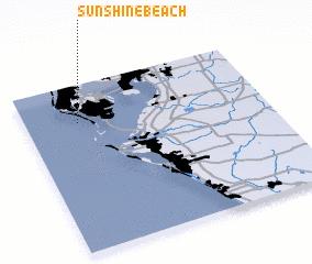 3d view of Sunshine Beach