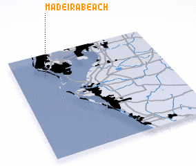 3d view of Madeira Beach