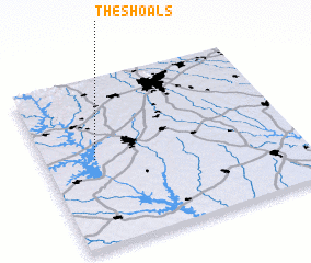 3d view of The Shoals