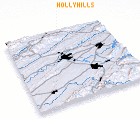 3d view of Holly Hills