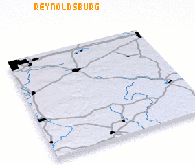 3d view of Reynoldsburg