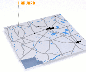 3d view of Harvard