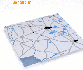 3d view of Wanamake