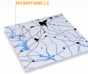 3d view of Enchanted Hills